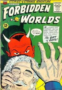 Cover Thumbnail for Forbidden Worlds (American Comics Group, 1951 series) #113