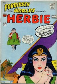Cover Thumbnail for Forbidden Worlds (American Comics Group, 1951 series) #116