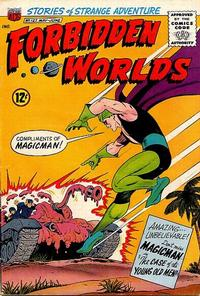 Cover Thumbnail for Forbidden Worlds (American Comics Group, 1951 series) #127