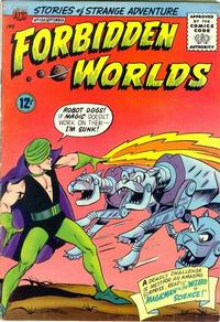Cover Thumbnail for Forbidden Worlds (American Comics Group, 1951 series) #130
