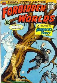 Cover Thumbnail for Forbidden Worlds (American Comics Group, 1951 series) #142