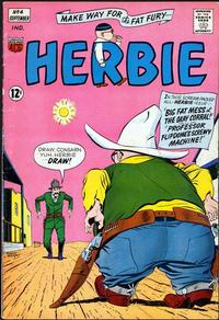 Cover Thumbnail for Herbie (American Comics Group, 1964 series) #4