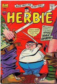 Cover Thumbnail for Herbie (American Comics Group, 1964 series) #7
