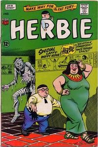 Cover Thumbnail for Herbie (American Comics Group, 1964 series) #19