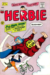 Cover Thumbnail for Herbie (American Comics Group, 1964 series) #22