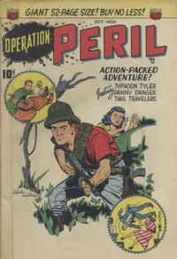 Cover Thumbnail for Operation: Peril (American Comics Group, 1950 series) #1