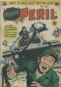 Cover Thumbnail for Operation: Peril (American Comics Group, 1950 series) #3