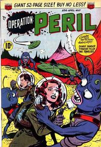 Cover Thumbnail for Operation: Peril (American Comics Group, 1950 series) #4
