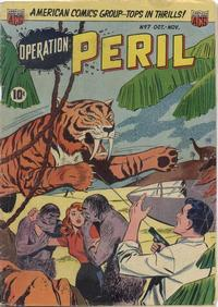 Cover Thumbnail for Operation: Peril (American Comics Group, 1950 series) #7