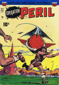 Cover Thumbnail for Operation: Peril (American Comics Group, 1950 series) #8