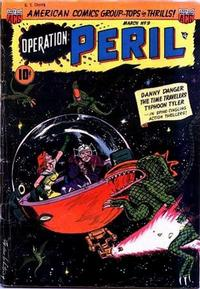 Cover Thumbnail for Operation: Peril (American Comics Group, 1950 series) #9