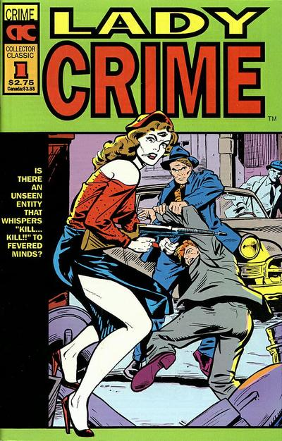 Cover for Lady Crime (AC, 1992 series) #1