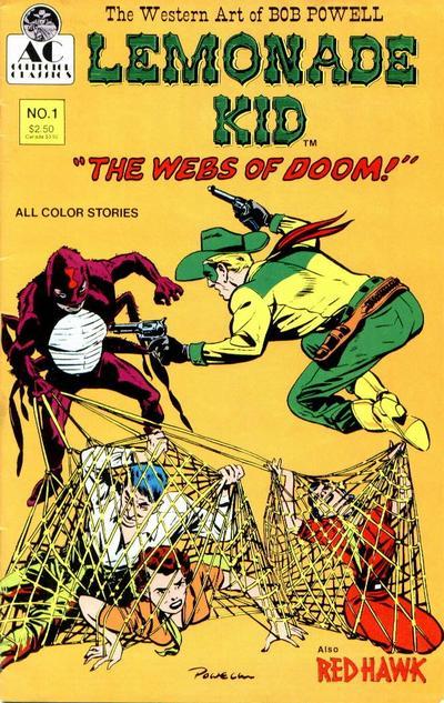 Cover for The Lemonade Kid (AC, 1990 series) #1