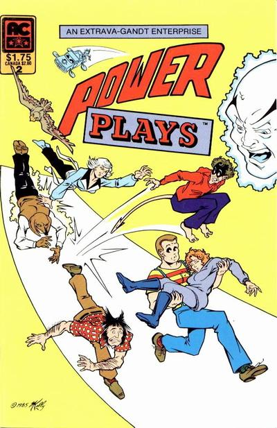 Cover for Power Plays (AC, 1985 series) #2