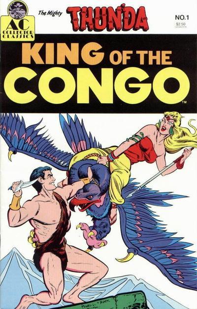 Cover for Thun'da King of the Congo (AC, 1989 series) #1