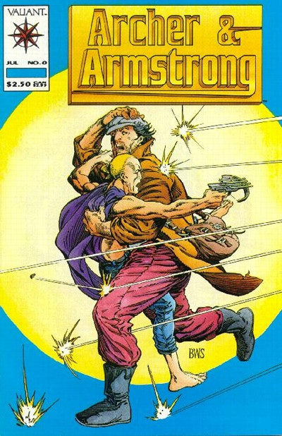 Cover for Archer & Armstrong (Acclaim / Valiant, 1992 series) #0 [Standard Cover]