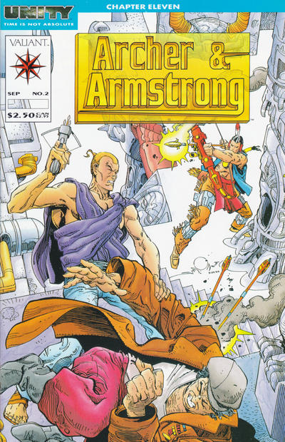 Cover for Archer & Armstrong (Acclaim / Valiant, 1992 series) #2