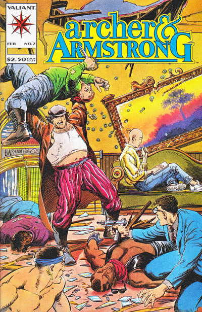Cover for Archer & Armstrong (Acclaim / Valiant, 1992 series) #7