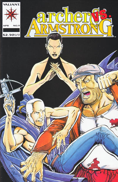 Cover for Archer & Armstrong (Acclaim / Valiant, 1992 series) #9
