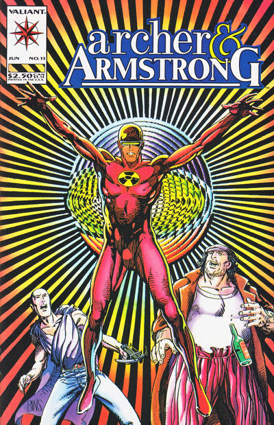 Cover for Archer & Armstrong (Acclaim / Valiant, 1992 series) #11
