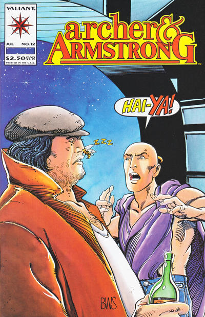 Cover for Archer & Armstrong (Acclaim / Valiant, 1992 series) #12