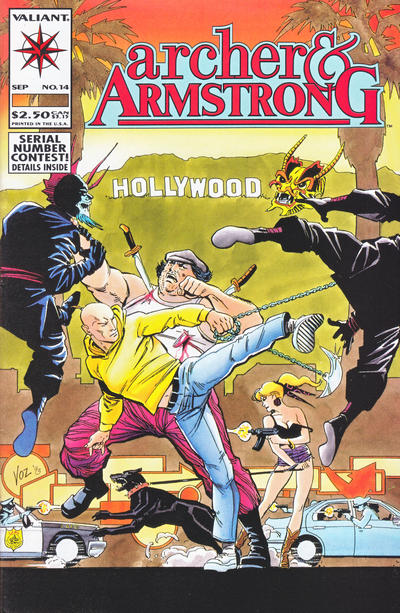 Cover for Archer & Armstrong (Acclaim / Valiant, 1992 series) #14
