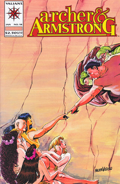 Cover for Archer & Armstrong (Acclaim / Valiant, 1992 series) #18