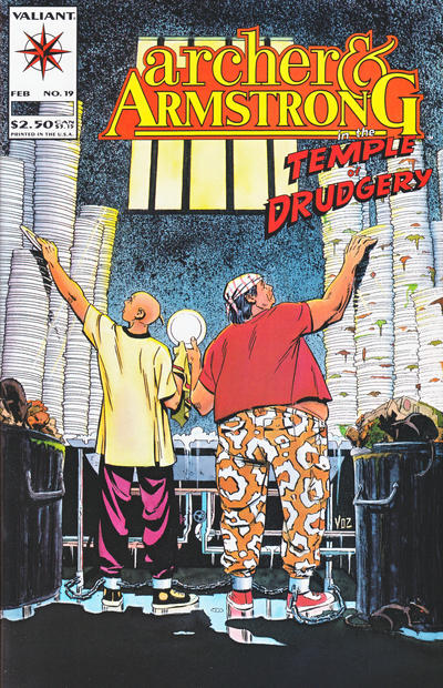 Cover for Archer & Armstrong (Acclaim / Valiant, 1992 series) #19
