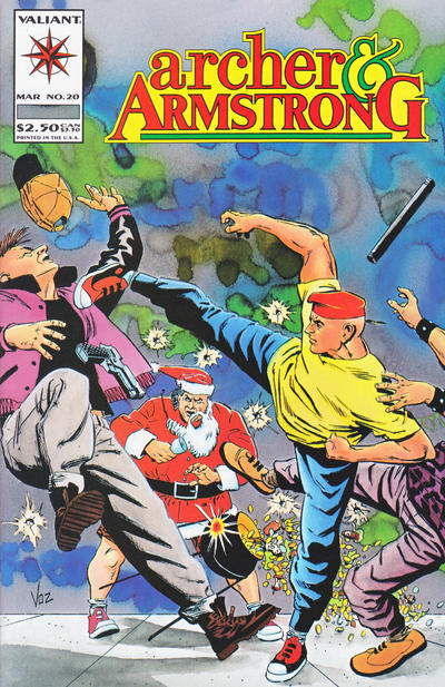 Cover for Archer & Armstrong (Acclaim / Valiant, 1992 series) #20