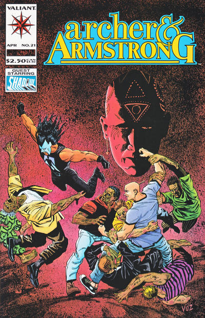 Cover for Archer & Armstrong (Acclaim / Valiant, 1992 series) #21