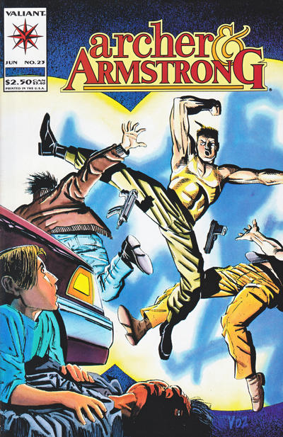 Cover for Archer & Armstrong (Acclaim / Valiant, 1992 series) #23