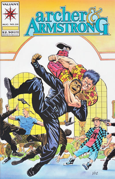Cover for Archer & Armstrong (Acclaim / Valiant, 1992 series) #24