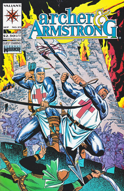 Cover for Archer & Armstrong (Acclaim / Valiant, 1992 series) #25