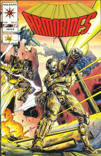 Cover for Armorines (Acclaim / Valiant, 1994 series) #0