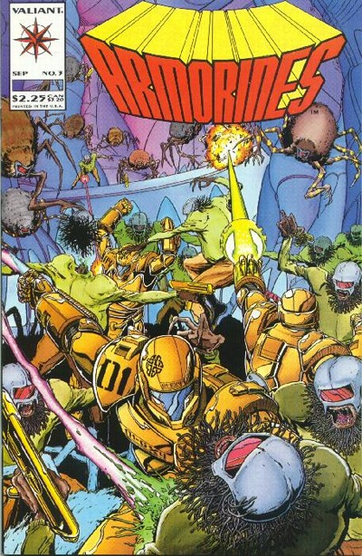 Cover for Armorines (Acclaim / Valiant, 1994 series) #3