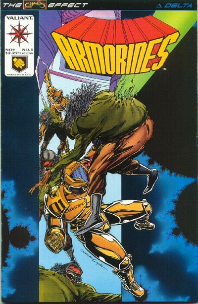 Cover for Armorines (Acclaim / Valiant, 1994 series) #5