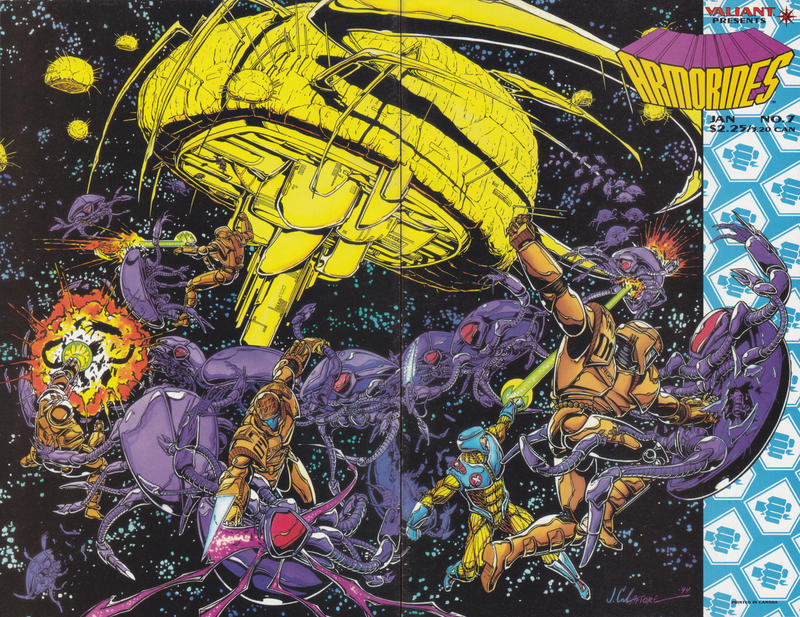Cover for Armorines (Acclaim / Valiant, 1994 series) #7