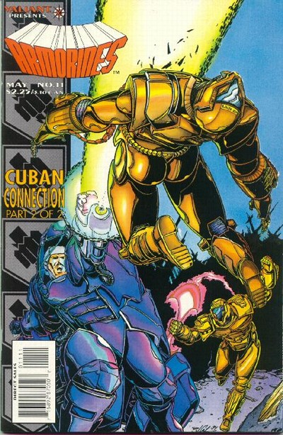 Cover for Armorines (Acclaim / Valiant, 1994 series) #11