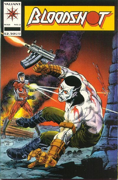 Cover for Bloodshot (Acclaim / Valiant, 1993 series) #2