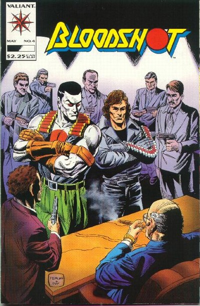Cover for Bloodshot (Acclaim / Valiant, 1993 series) #4