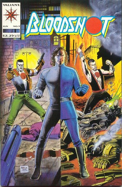 Cover for Bloodshot (Acclaim / Valiant, 1993 series) #5