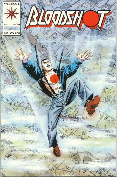 Cover for Bloodshot (Acclaim / Valiant, 1993 series) #6
