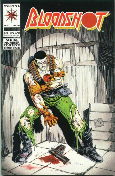 Cover for Bloodshot (Acclaim / Valiant, 1993 series) #8