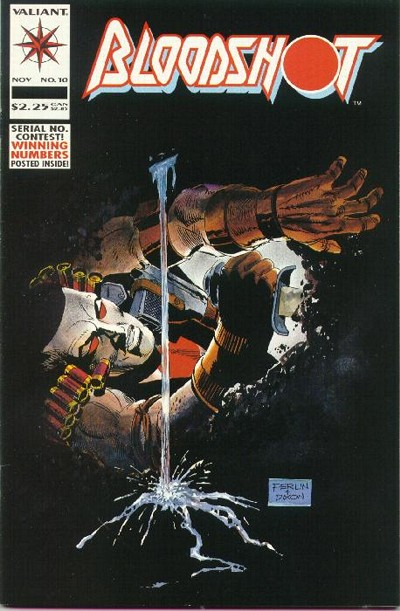 Cover for Bloodshot (Acclaim / Valiant, 1993 series) #10