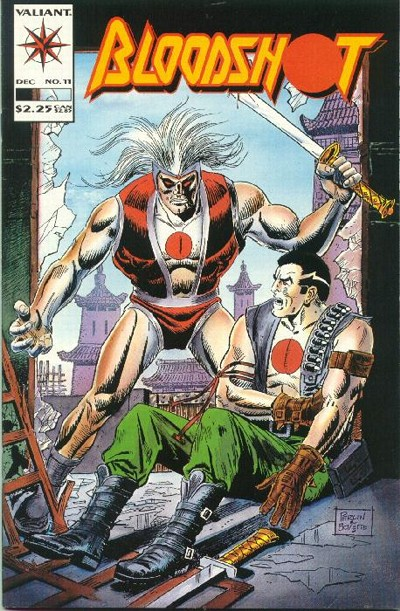 Cover for Bloodshot (Acclaim / Valiant, 1993 series) #11