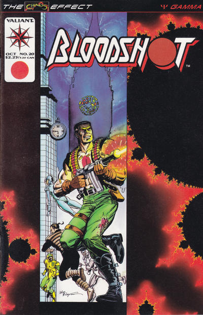 Cover for Bloodshot (Acclaim / Valiant, 1993 series) #20