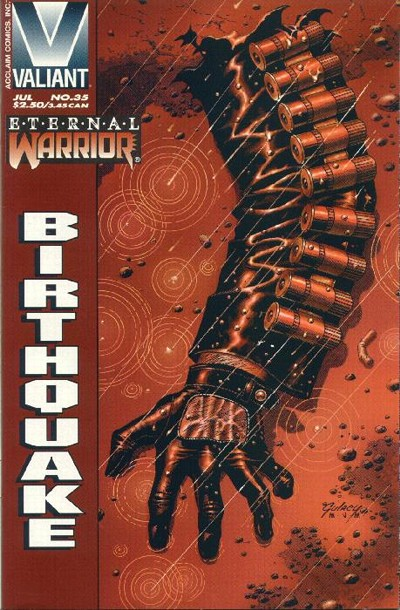 Cover for Eternal Warrior (Acclaim / Valiant, 1992 series) #35