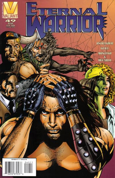 Cover for Eternal Warrior (Acclaim / Valiant, 1992 series) #49