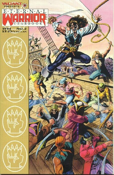 Cover for Eternal Warrior Yearbook (Acclaim / Valiant, 1993 series) #2