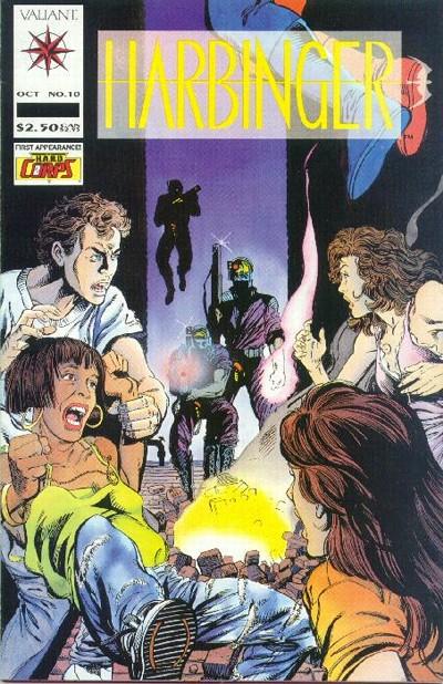Cover for Harbinger (Acclaim / Valiant, 1992 series) #10